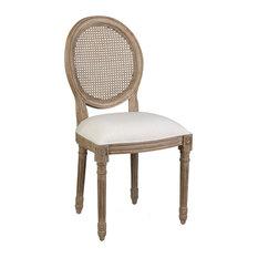 East At Main's Jasmine Mahogany Dining Chair Set Of 2