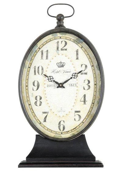 Traditional Desk And Mantel Clocks Paris 1823 Antiqued Mantel Clock