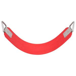 Polymer Belt Swing Seat, Red