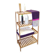 proman products proman products horizon wide 4tier shelf bathroom cabinets and shelves