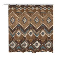 Laural Home Santa Fe Shower Curtain