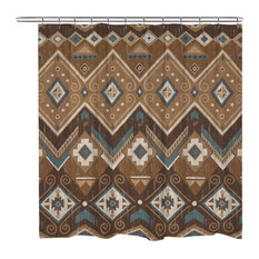 50 Most Popular Southwestern City And Country Themed Shower Curtains
