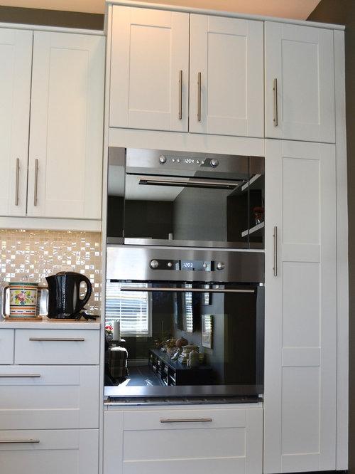 Grimslov ikea white and grey kitchens - Ikea kitchen white cabinets ...