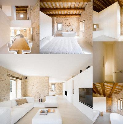 Casa de campo  Casa Olivi in Treia, Italy