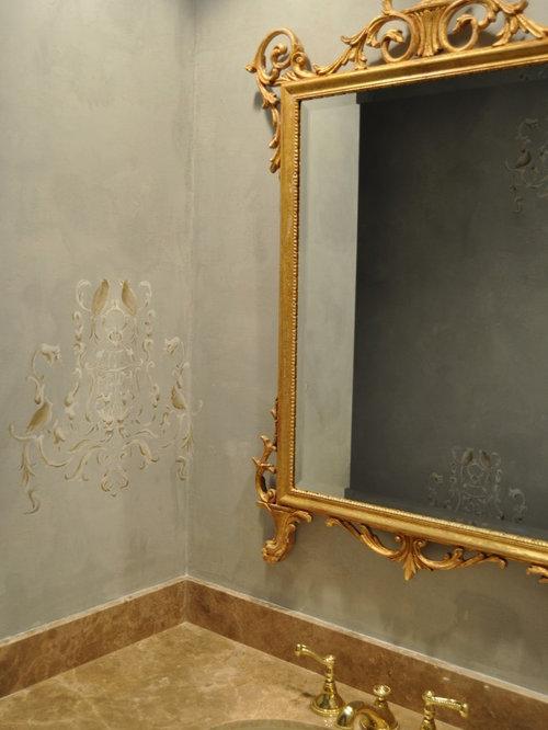 bathroom wall stencils home design ideas renovations photos