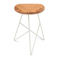 Acute Stool Amber Bamboo Low Cream