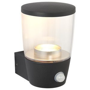 Canillo Outdoor PIR Single Wall Light