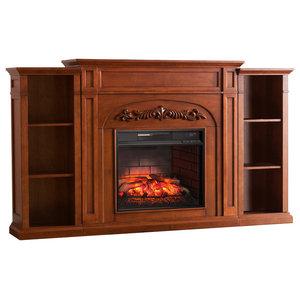 Napoleon Nefp33 0214w Taylor Electric Fireplace Mantel Entertainment