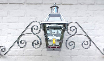Chrome Plated Gas and Electric Lights