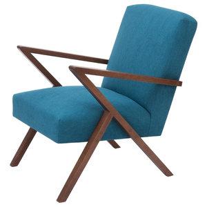 Retrostar Basic Armchair, Cyan