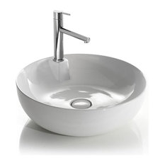 Håndvask - Elite Round CR / DESIGN4HOME