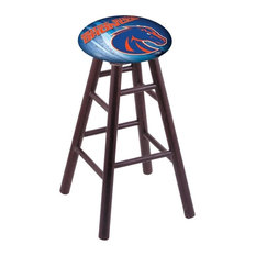 Boise State Bar Stool Dark Cherry