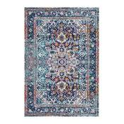 Persian Vintage Raylene Area Rug, Pink, 8'x10'