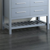 43 in. Bathroom Vanity Cabinet in Gray