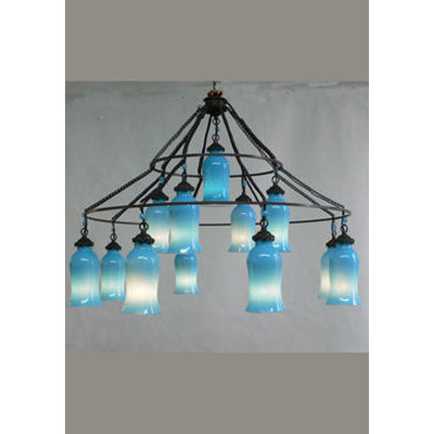 New classics the sara milk glass chandelier eclectic chandeliers by tonic home aloadofball Choice Image