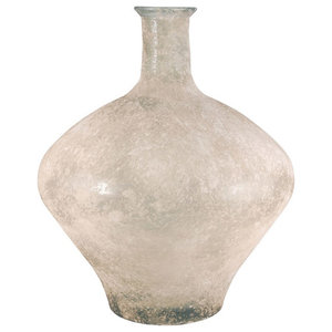Elk Medea Vase 18In 316036, Textured Smoke