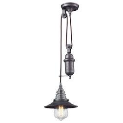 Industrial Pendant Lighting by ELK Group International