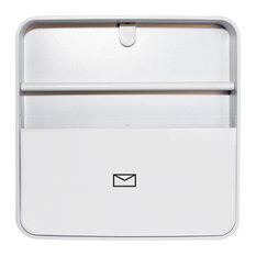 Wall-Mounted Document Organiser, White