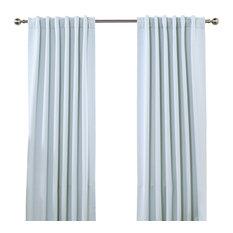 best shop light blue curtains on houzz. Black Bedroom Furniture Sets. Home Design Ideas
