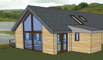 Semi-underground Eco-House in Argyll