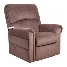 Serta Sherwood Comfort Lift Recliner, Polo Club Java by Lifestyle Solutions