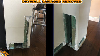 Drywall Damaged