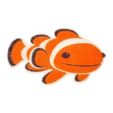 SlipX Solutions - Clownfish Tub Tatoos - Kids Bathroom Accessories