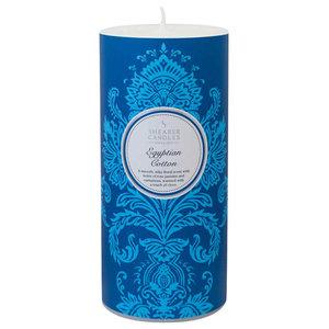 Egyptian Cotton Pillar Candle