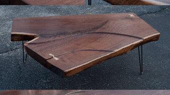 Waterfall Slab Table