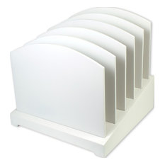 Incline File, White