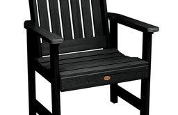 Lehigh Garden Chair, Black