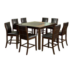 Furniture Of America E Commerce By Enitial Lab   Baine Cherry Finish 9 Piece