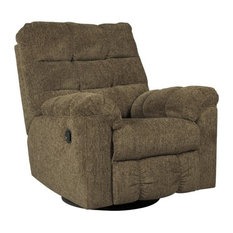 Ashley Furniture Homestore - Ashley Antwan Swivel Rocker Recliner Truffle - Recliner Chairs  sc 1 st  Houzz & High-Rise Recliner Chairs | Houzz islam-shia.org