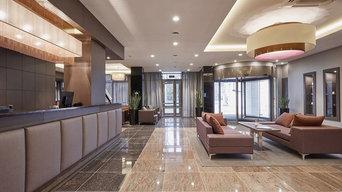 Автоматизация многоэтажного гостиничного комплекса TENET, Екатеринбург