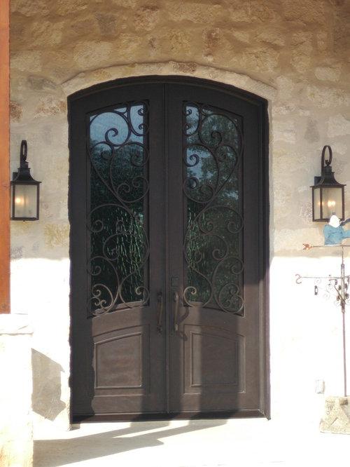Granada Arch Top Wrought Iron Double Door - Front Doors. Image Number 34 Of Monterrey Doors Sidelights . & Monterrey Doors Sidelights u0026 Photo Of Door Coffee - Monterrey ... pezcame.com