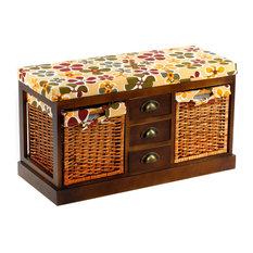 Taiga Wooden Storage Bench