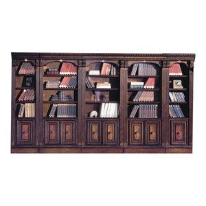 Huntington Library Wall Unit, 5-Piece Set