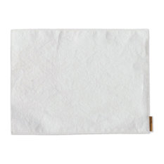 Washable Paper Placemats White Placemats, Set of 4