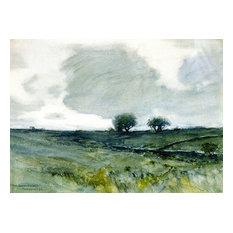 Pasture Trees Art, 30x22