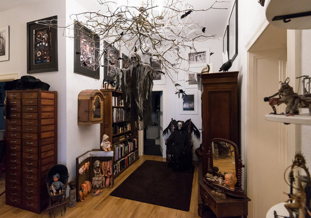 die rocky horror puppen show halloween in einem gothic. Black Bedroom Furniture Sets. Home Design Ideas