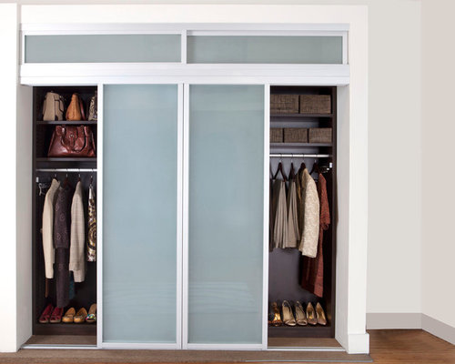 Reach In Closet Sliding Doors
