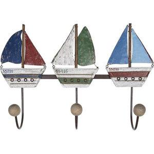 Sailboats Coat Hooks