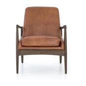 Ragni Brandy Leather Chair