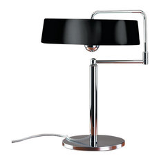 Pierre Chareau Black Table Lamp