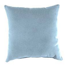 Jordan Manufacturing Sunbrella Knife Edge Pillow, Canvas Air Blue