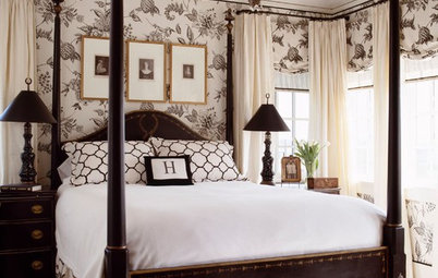 Room of the Day: Classic Contrast in a Stylish Master Suite
