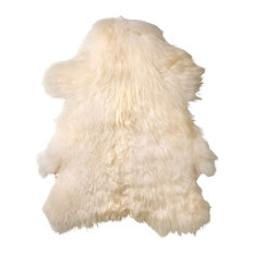 Winchester Modern Classic Off White Icelandic Sheep Fur Rug - Set of 2