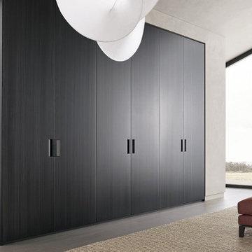 wardrobe minimalist closet