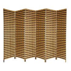 wood room divider | houzz