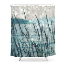 Afternoon At the Lake Shower Curtain